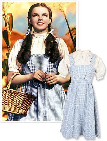Judy Garland Dress Wizard of Oz