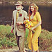 Amber Tamblyn&#039;s Yellow Wedding Dress: Channeling Elizabeth Taylor