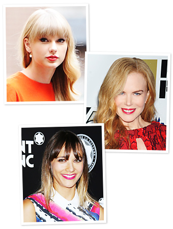 Celebrities Matching Lipstick