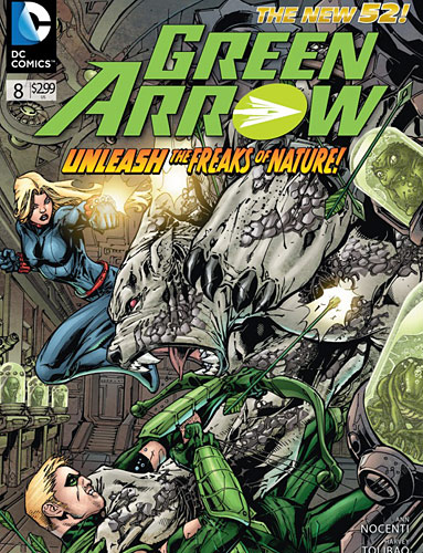 Green Arrow Comic Book