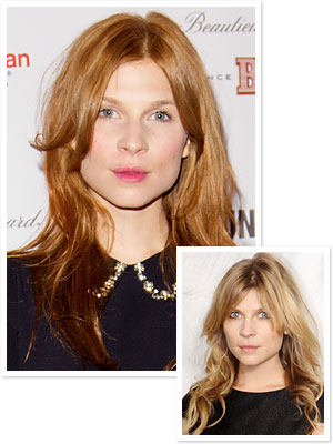 Clemence Poesy Hair