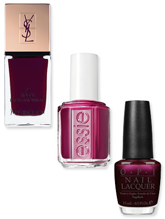 nail polish, YSL, essie, opi