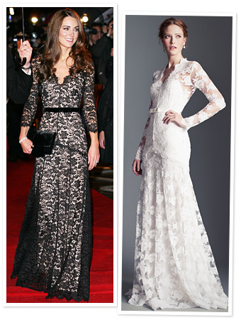 Kate Middleton; Temperley