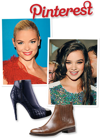 Pinterest, Jaime King; Hailee Steinfeld