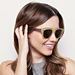 Sophia Bush for Warby Parker and Pencils of Promise