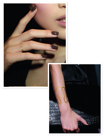 Dior-Gold-Tattoo