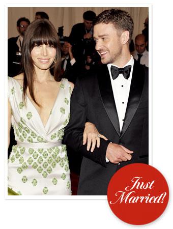 Jessica Biel Justin Timberlake Married