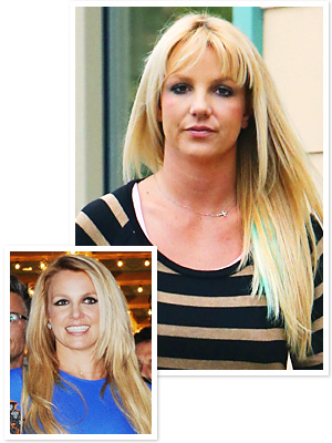 Britney Spears Bangs