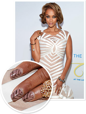 Tyra Banks Nails