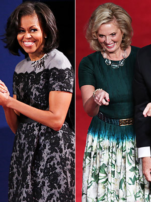Ann Romney Michelle Obama
