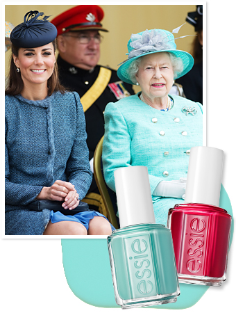 Essie - Kate Middleton - Queen Elizabeth
