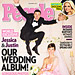 Jessica Biel&#039;s Wedding Dress: Pink Giambattista Valli