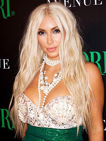 Kim Kardashian Halloween Wig