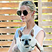 Celebrity Pets! Anne Hathaway Defies Hurricane Sandy, Ashlee Simpson Cuddles Alabama, and More!