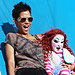 Halle Berry and Daughter Nahla Slide into Halloween at Mr. Bones