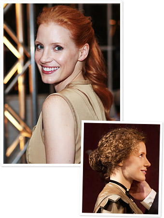 The Heiress - Jessica Chastain - Broadway
