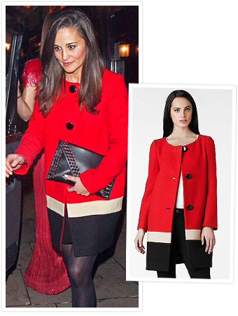 Pippa Middleton Coat