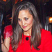 Pippa Middleton's Red Kate Spade Coat