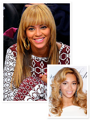 Beyonce - Hair - Bangs