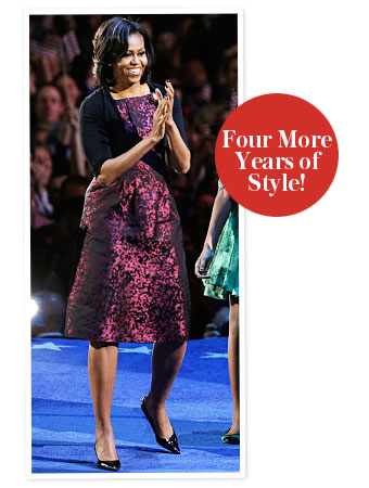 Michelle Obama Election Night Michael Kors