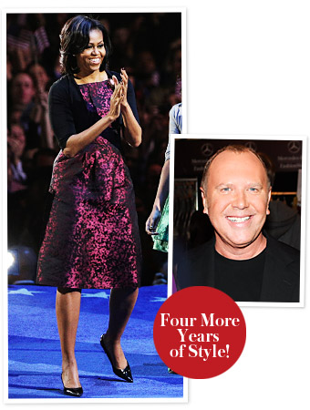 Michelle Obama Michael Kors