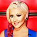 The Voice: Details on Christina Aguileras Patriotic Makeup and Bridal Headpiece