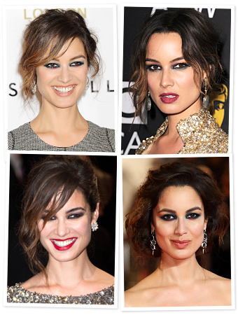 Berenice Marlohe - Makeup - Smoky Eye