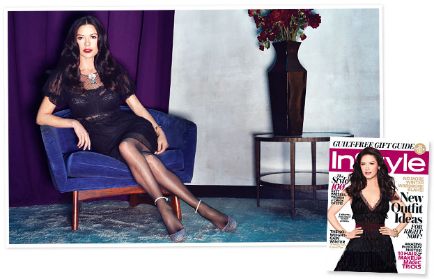 Catherine Zeta-Jones InStyle Cover