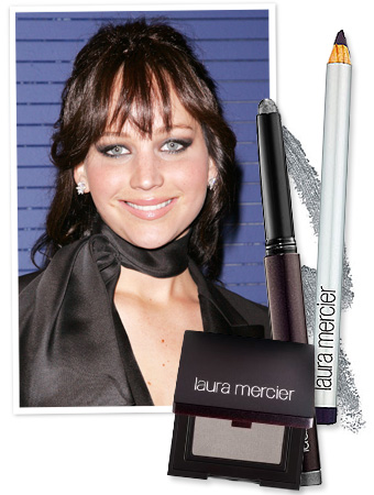 Jennifer Lawrence Smoky Eye