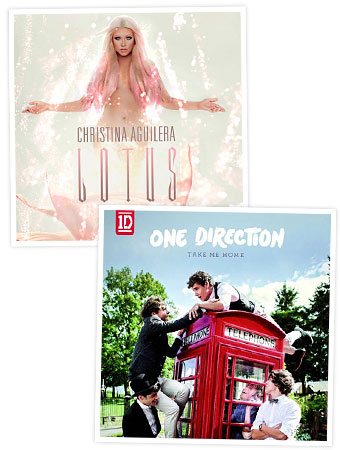 Christina Aguilera One Direction