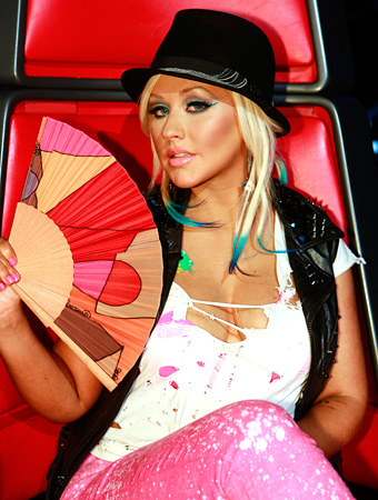The Voice Christina Aguilera