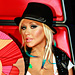 Christina Aguilera Does &quot;Malibu Punk Barbie&quot; Makeup on The Voice 