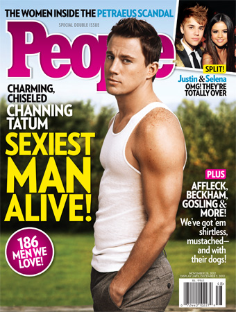 People Sexiest Man Alive Channing Tatum