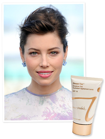 Jessica Biel - Tinted Moisturizer