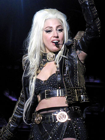 Lady Gaga Versace