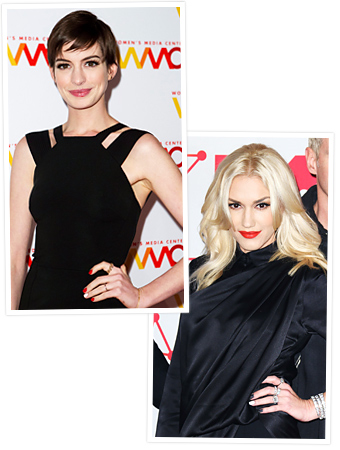 Statement Nail - Anne Hathaway - Gwen Stefani