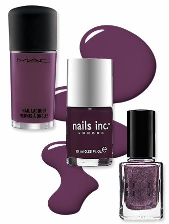 Plum Nail Polish