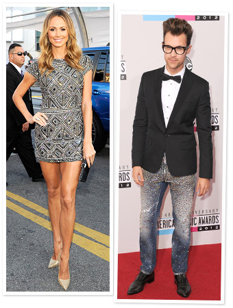 Stacy Keibler Brad Goreski