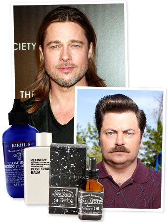 Ron Swanson - Brad Pitt 