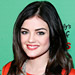 Found It! Lucy Hale's Sheer Coral Lipstick