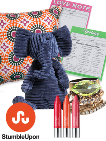 StumbleUpon gift guide list
