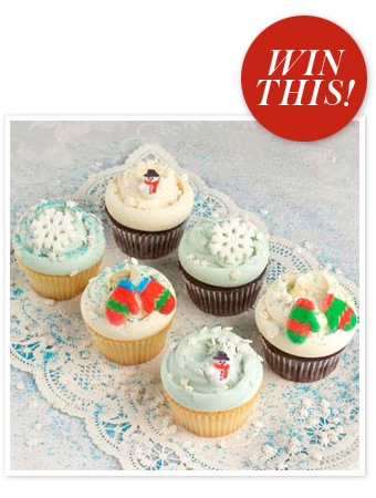 Magnolia Bakery holiday cupcakes