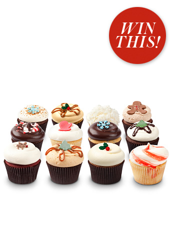 Georgetown Holiday cupcakes