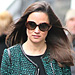Found It! Pippa Middleton&#039;s Black Belted Dress and Tweed Blazer