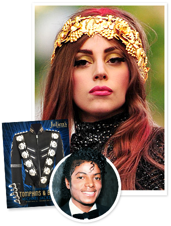 Michael Jackson Auction Lady Gaga