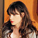 Found It via Possessionista! New Girl Star Zooey Deschanel&#039;s Two-Tone Dress