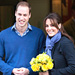 Kate Middleton and Prince William Leave Hospital in Matching Blues