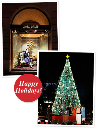 Miu Miu, National Christmas Tree Lighting