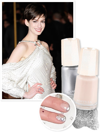 Anne Hathaway Manicure