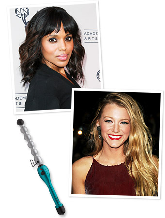 Kerry Washington - Blake Lively - Beachy Waves